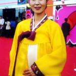 Traje Tradicional de la Etnia Coreana