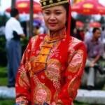Traje Tradicional de la Etnia Mongol
