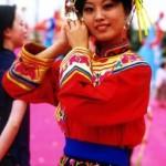 Traje Tradicional de la Etnia Qiang