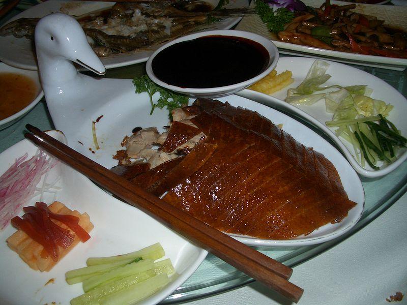 Pato a la Pekinesa