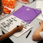 Clase de Chino mandarín en Colegio Britanico de Madrid para alumnos de Primary
