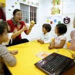Clase de chino en Escuelas Infantiles