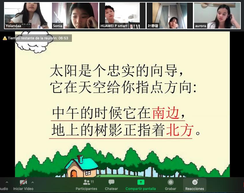Foto clase chino online 4